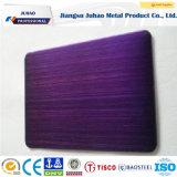 PPGI Haarstrich 201 304 Farben-Beschichtung-Edelstahl-Platte