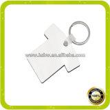 Trousseau de clés de panneau dur de ventes en gros pour le transfert thermique pour la sublimation de teinture