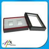 Doppelte Stück-hölzerne Uhr-Bildschirmanzeige-verpackenkasten