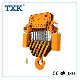 Una gru Chain elettrica resistente da 50 tonnellate con controllo Pendant