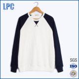 Het Sweatshirt van de Vacht van de Kleur van het Contrast van de douane voor Mensen