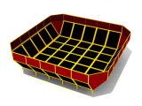 [قيتل] صنع وفقا لطلب الزّبون يجعل [ترمبولين] داخليّة ملعب [ترمبولين] متنزهة