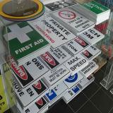 Подгонянная доска Coreflute печатание логоса пластичная, печатание цифров доски Corex
