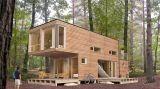 4 une a casa do recipiente de 40FT para o projeto luxuoso