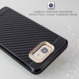 Casse del telefono della fibra TPU del carbonio per perfezione della galassia J7 di Samsung