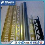 Ajuste de aluminio popular del azulejo de la ISO Anodzied con color de madera de la plata del oro