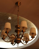Antique Round Decorative Fixture Residential Pendant Lamp