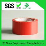 Bande électrique d'isolation adhésive de fil de PVC, largeur de la longueur X 17mm de 17m, rouge