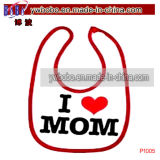 Infant Baby Accessories Bib Apron para Party Heart Mom (P1005)