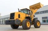 車輪のローダー5トンのEougem Zl50gnの道路工事装置