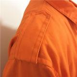 Vêtements de travail uniformes de pantalon de travail d'ingénieur d'huile de bleu royal et d'oranges
