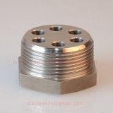 Ajustage de précision hydraulique de tête Hex d'acier inoxydable avec 6 ajustages de précision de trou/tube d'épanouissement