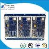 PCB управлением импеданса 8 слоев для электроники обеспеченностью