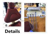 Стул Ce высокого качества 2017 Approved реальный кожаный зубоврачебный с светом датчика СИД