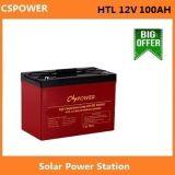 製造業者の太陽電池12V100ah 15~20yearsデザイン生命-20~ 60度