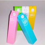 Côté portatif de pouvoir de couleur de sucrerie de coupure de côté de pouvoir du type 1200mAh de lait pour le téléphone mobile pour le cadeau de Noël