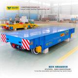 Véhicule de transfert à batterie pour l'équipement de manutention sur rail