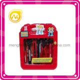 Смешная резцовая коробка пластмассы игрушки комплекта инструмента детской игры игрушки инструмента