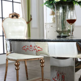 Las ventas al por mayor caliente de lujo mesa de mármol Juego de comedor para banquetes
