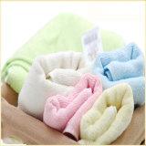 Essuie-main 100% de face ordinaire de coton de couleur