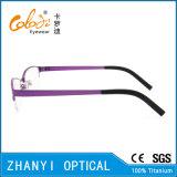 Telaio dell'ottica di Eyewear di vetro di titanio Semi-Senza orlo leggeri del monocolo per la donna (8103)