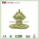 Новые Meditating статуи Figurine лягушки йоги Tabletop Collectible для любовников лягушки