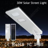 30W Integrated All in Ein Solar Street Light mit Motion Sensor