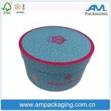 새로운 상자 디자인 포장 관 라운드 꽃 상자 도매를 포장하는 AM