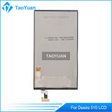 Экран Taoyuan AAA LCD для агрегата экрана LCD желания 510 HTC