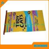 saco de alimentação tecido PP dos animais de estimação 30kg com laminado