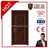 Portes intérieures de bois de construction des prix de modèle bon marché d'éclat