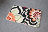 Couvre-tapis de porte tufté antidérapant de tapis de décoration lavable