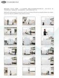 Crear el título laminado del panel para requisitos particulares de pared de la exposición