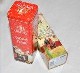 Blikken van het Koekje van het Tin van de Kruik van Cooky van de Doos van het Tin van het Suikergoed van de douane de Vierkante
