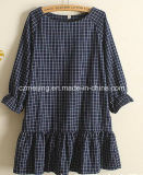 Black&Blue Plaid-Frauen `S Kleid