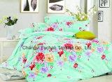 Neue Entwurfs-Hotel-Bettwäsche-stellt gesetzte Poly-/Baumwollbettwäsche Bett-Blatt ein