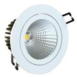 중단한 전등 설비 3000k는 백색 LED 천장 빛을 데운다