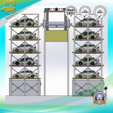Système vertical de stationnement pour le véhicule