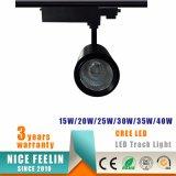 Konkurrenzfähiger Preis 15W Epistar PFEILER LED Spur-Licht für das System-Beleuchten