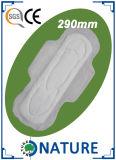 Ineinander greifen-Spitzenblatt-gesundheitliche Serviette mit Adl-Großverkauf