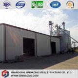 Сталь - обрамленные конструкция/здание для обрабатывать индустрии