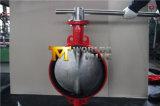 Vleugelklep van het Wafeltje van de Hefboom van de Hand van het roestvrij staal de Rubber(D71X-10/16)