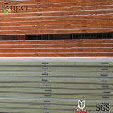 Painel de sanduíche de aço do poliuretano da cor para o quarto de armazenamento frio