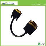 DVI jumelle le câble HD de jumeaux du câble HDMI de jumeaux du câble RCA