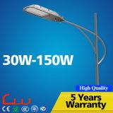 GV de RoHS TUV de la CE de ccc éclairage LED de rue de 80 watts