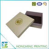 Boîte-cadeau de papier faite sur commande fabriquée à la main de 2 parties