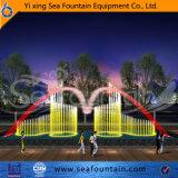 Estilo clásico de la piscina al aire libre fuente de la música de varias clases