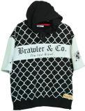 Chemises personnalisées Hoodie de type de loisirs de rue de mode avec les chemises courtes (H0002/03/04/05/06)