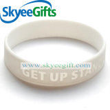 Gute Qualitätskundenspezifisches bekanntmachendes Silikon-Armband
