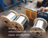 Fio de aço electrogalvanizado de carbono elevado para a fibra de aço